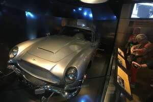 A section of the International Spy Museum is dedicated to Ian Fleming's James Bond character from books and movies. Among the popular displays is an Aston Martin DB5 -- with modifications -- like the one used in several James Bond films.