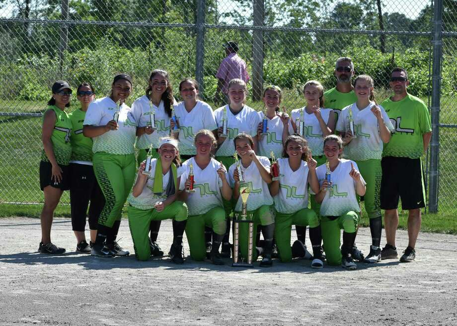 The Tucci Elite 14U team capped off a successful season by winning the Fairfield County Fastpitch Softball tournament last weekend, beating the Newtown Thunder 12-5 in the final. Tryouts for the 2017-2018 season will be Aug. 4-5. Pre-register at https://tuccielitesoftball.com. Team members include, front row, from left, Jordan Hogan, Catherine Sheehan, Madyson Suda, Benni Tucci and Alyssa Campo; center row, Erica Cunningham, Erica Giglio, Samantha Pierre, Mia Lanzarotto, Briana Muro, Francesca DeLeo and Lila Young; back row, coaches Michelle Suda, Trina Muro, Pete Tucci and John Sheehan. Photo: Contributed Photo