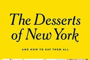 """Cover from the book """"The Desserts of New York."""""""