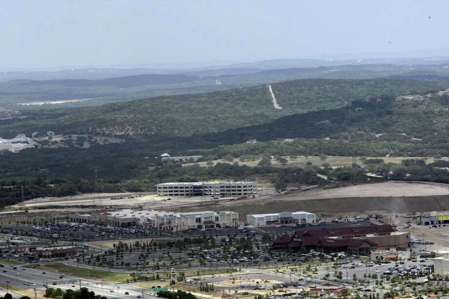 Aerial view of growth around Camp Bullis in 2008. Photo: Express-News File Photo / gferniz@express-news.net