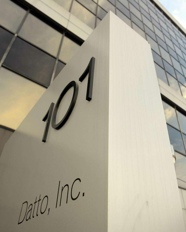 Datto headquarters at 101 Merritt 7 in Norwalk, Conn.