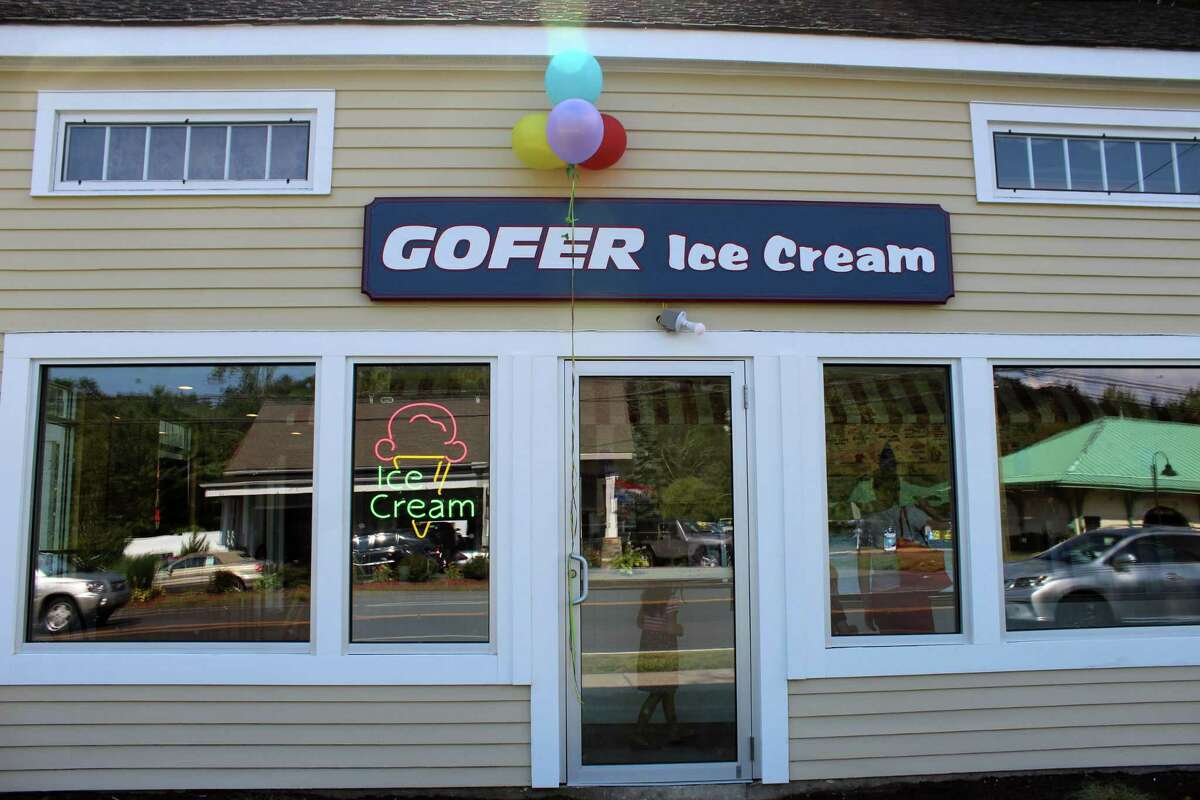 Gofer Ice Cream opened its fifth location in Wilton at 379 Danbury Road on Tuesday, Aug. 1, 2017.