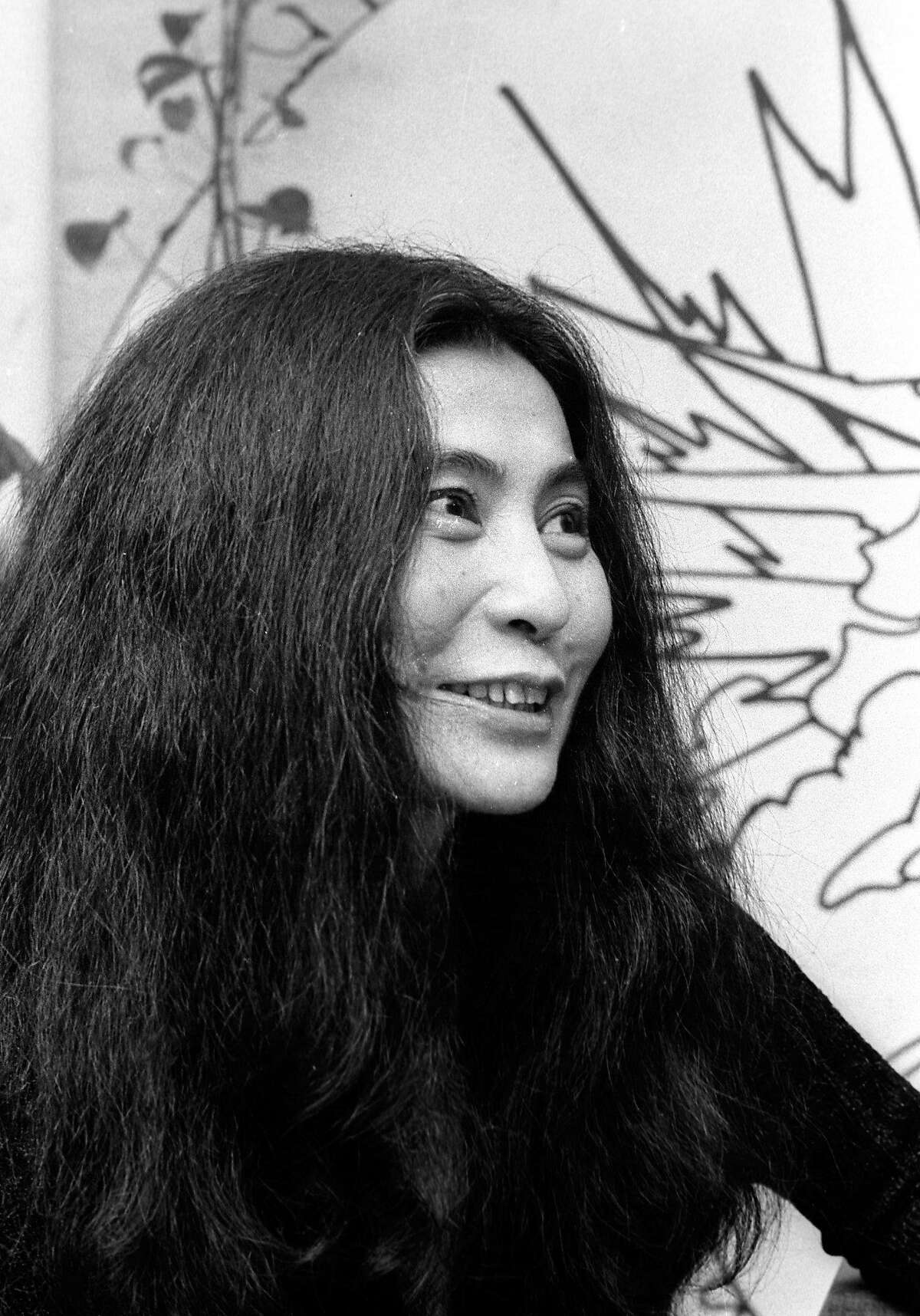 NEW YORK CITY - NOVEMBER 13: Musician Yoko Ono attends the opening of David Croland Exhibit on November 13, 1973 at Artworks Gallery in New York City. (Photo by Ron Galella/WireImage)