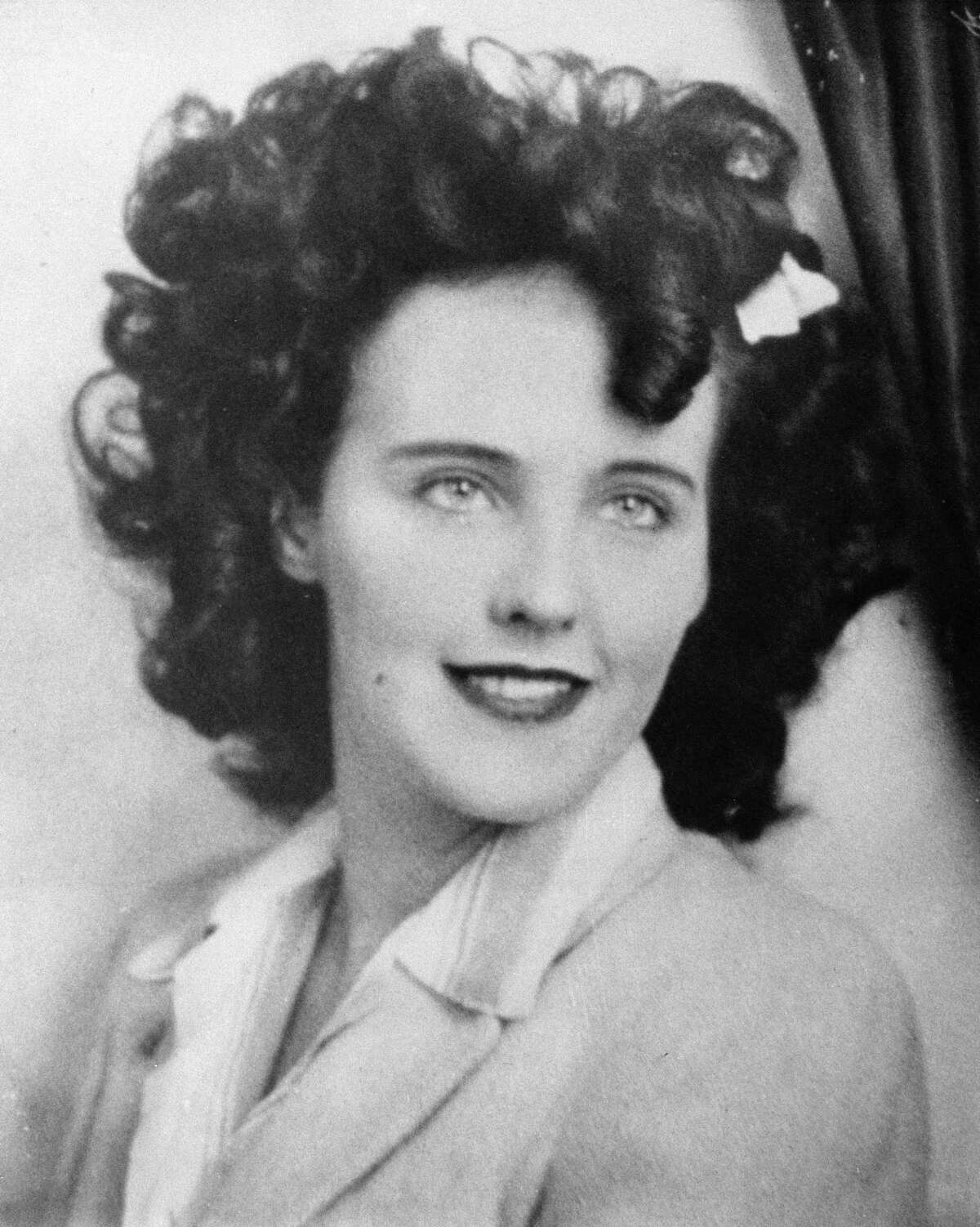Actress Elizabeth Short, known as Black Dahlia, is seen in this undated photo. Short died at age 22, her slain body found in a Los Angeles parking lot on Jan. 15, 1947. (AP Photo)