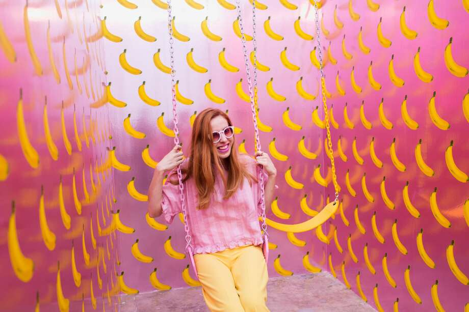 Scenes from the Museum of Ice Cream in Los Angeles, CA. The colorful pop-up exhibit will be coming to1 Grant Ave in San Francisco, and is expected to open in September. Photo: Courtesy/Katie Gibbs