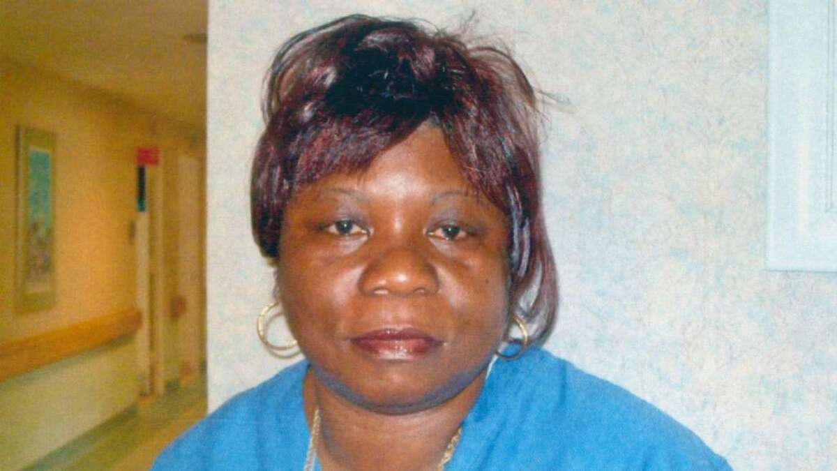 Enid Dickens, 57, shown in a photo provided by the Smith House, where she was employeed as a certifed nursing assistant. Dickens, and her 73-year-old mother were shot to death this morning in Norwalk. Dicken's ex-husband Gilbert Orlando, 56, was taken into custody in connection with the deaths.