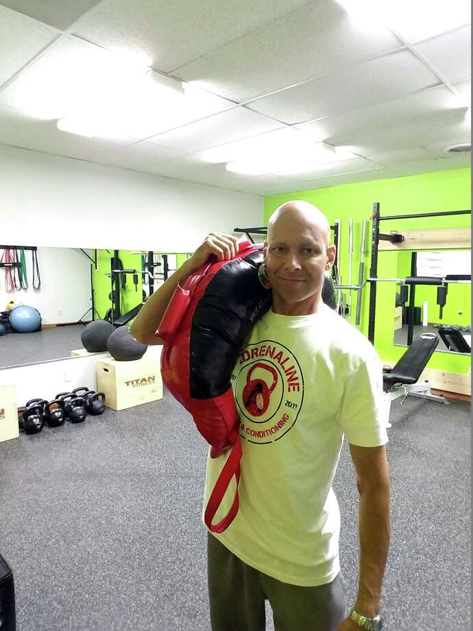 Carlos Falcon, owner of Adrenaline Strength and Conditioning, a fitness studio in Burnt Hills. (Photo provided)