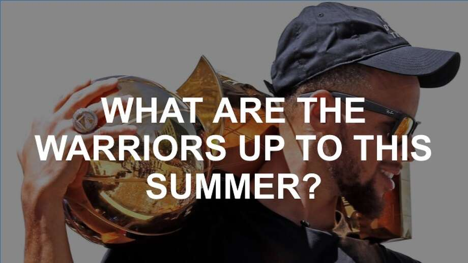 Curious about the Warriors' crazy offseason plans? Click on! Photo: Scott Strazzante, The Chronicle