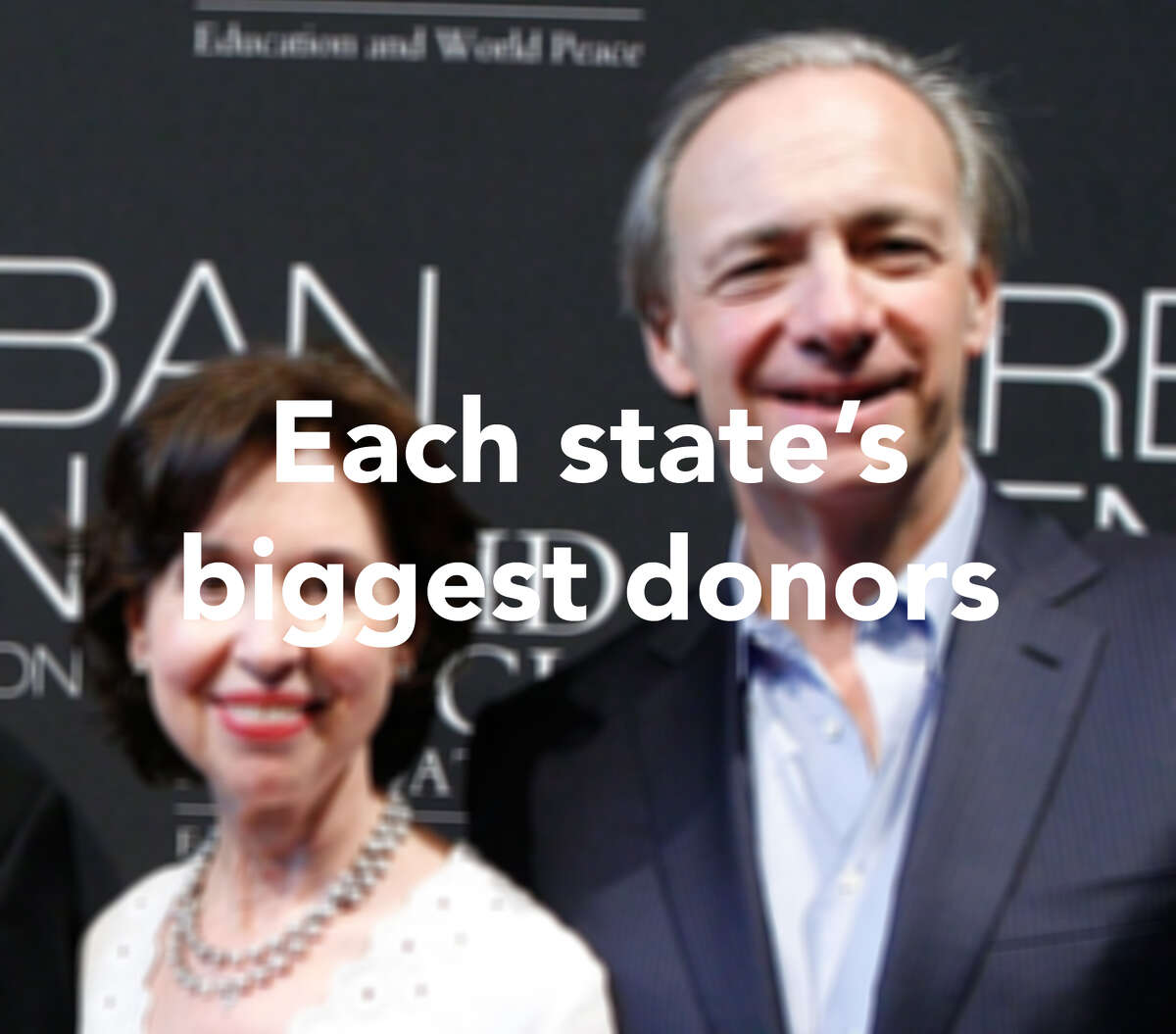 Click through the slideshow to see the biggest philanthropic donors in each state.