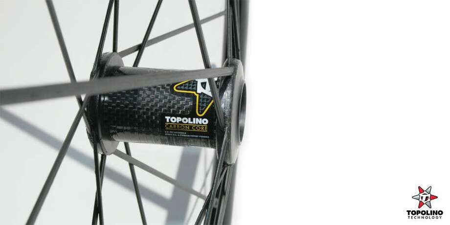 """Topolino Technology, a Bethel-based maker of bicycle wheels, recently came out with the CarbonCore WX2.5 wheelchair wheels, which they say are the lighest in the """"everyday"""" category. Photo: Contributed Photo / The News-Times Contributed"""