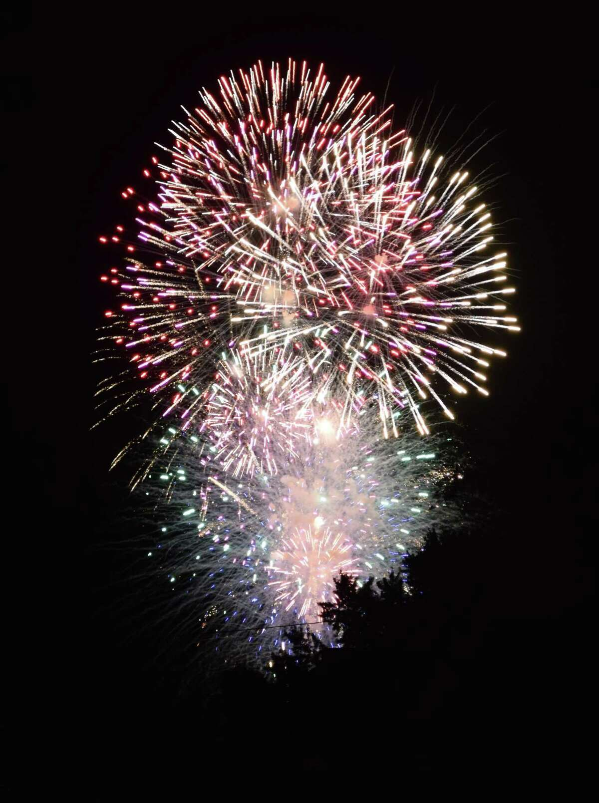 A highlight of the 50th annual Village Fair Days in New Milford was a fireworks display. The fireworks had been scheduled as part of the Fourth of July Celebration, organized by the Greater New Milford Chamber of Commerce, in town but was postponed to the fair due to inclement weather.