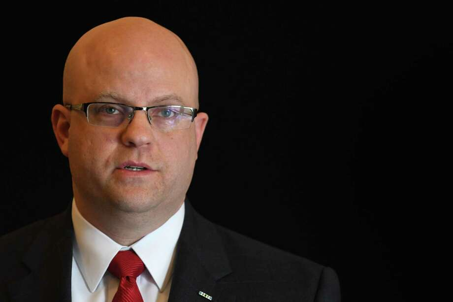 Rensselaer County District Attorney Joel Abelove speaks during a press conference to talk about arrest made during Fractal Fest, a music festival that was held over the weekend on private property off Route 22 in Stephentown, on Tuesday, Aug. 1, 2017, in Troy, N.Y. (Will Waldron/Times Union) Photo: Will Waldron / 20041167A