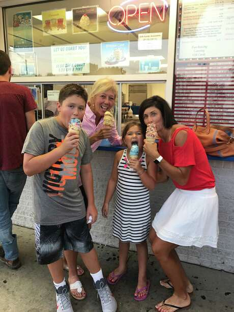 Laura Diaz, far right, Susan Bond and Diaz's children Cooper, 11, and Lilly, 7 enjoy some family time. (Provided)