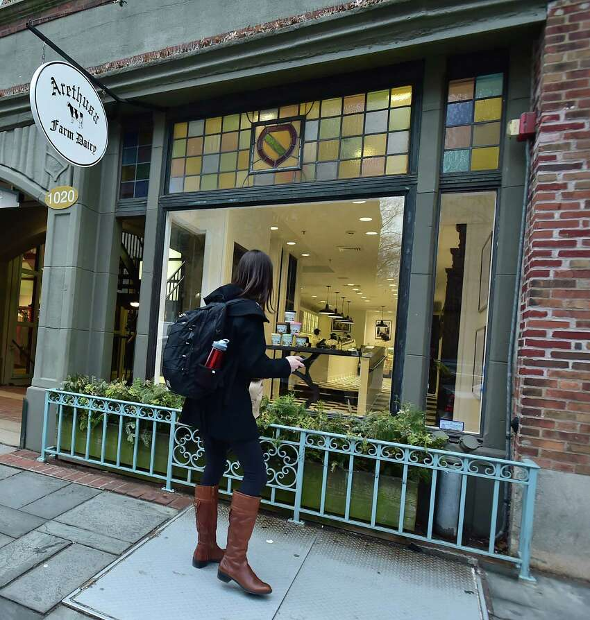 Arethusa Farm Dairy at 1020 Chapel Street in New Haven. (Catherine Avalone/New Haven Register)