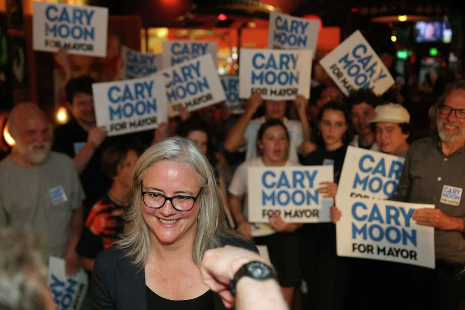 "Seattle Mayoral candidate Cary Moon: ""Yes, I would let them (people experiencing homelessness) stay in parks until a place is found for them."" Photo: GENNA MARTIN, SEATTLEPI.COM / SEATTLEPI.COM"