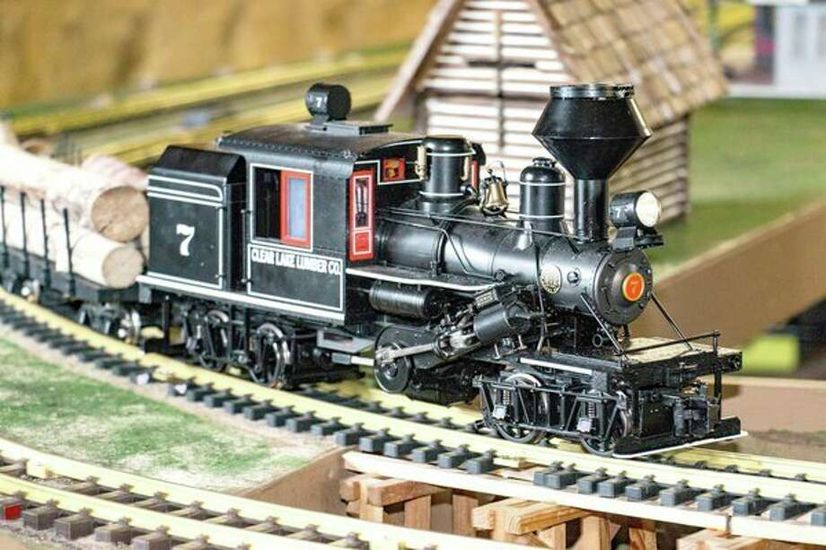 A train on display at the Sanford Centennial Museum for Model Train Day in 2016. The event returns from 11 a.m. to 4 p.m. Aug. 5 at the museum, 2222 Smith St. in Sanford.
