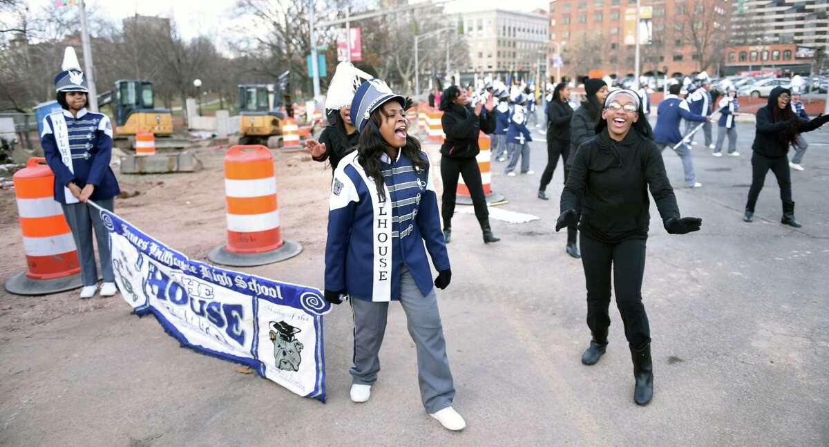 Inaugural Parade for Governor Dannel P. Malloy in Hartford on 1/7/2015. Photo by Arnold Gold/New Haven Register agold@newhavenregister.com