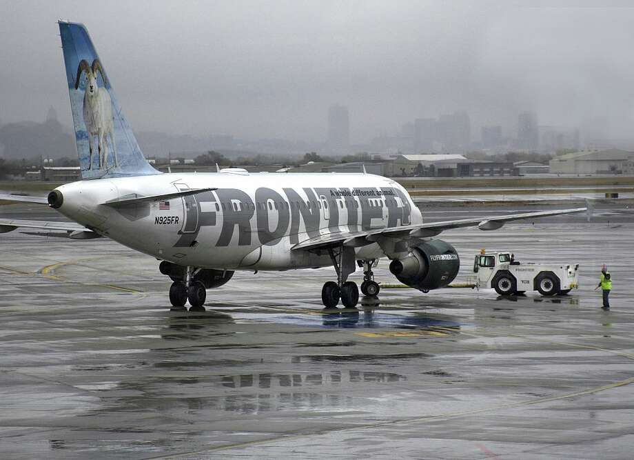 Frontier Airlines is cutting ticket prices this month at select airports. Click through to see the J.D. Power 2017 North America Airline Satisfaction Study which ranks traditional and low-cost airlines.  Photo: Robert Alexander/Getty Images