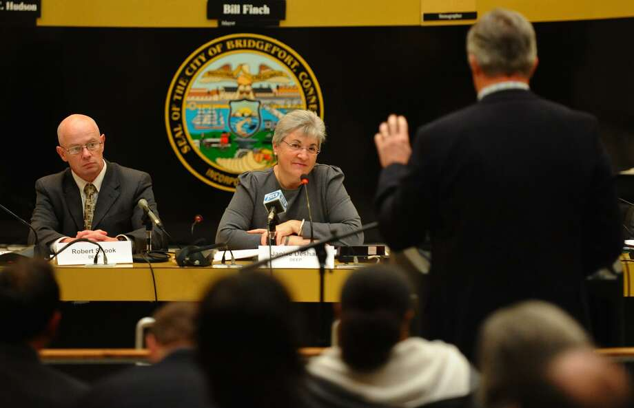 The Connecticut Department of Energy and Environmental Protection (DEEP) held the first public meeting on the Draft Comprehensive Energy Strategy (CES) at Bridgeport City Council Chambers in Bridgeport, Conn. on Wednesday November 14, 2012. Photo: Christian Abraham / Christian Abraham / Connecticut Post
