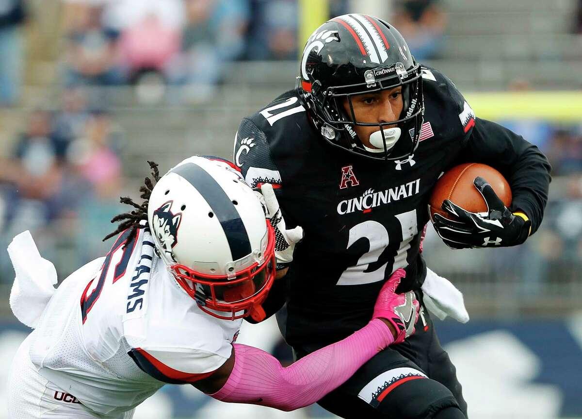 >>>The Associated Press Top 25: 25. Cincinnati The American 8-1