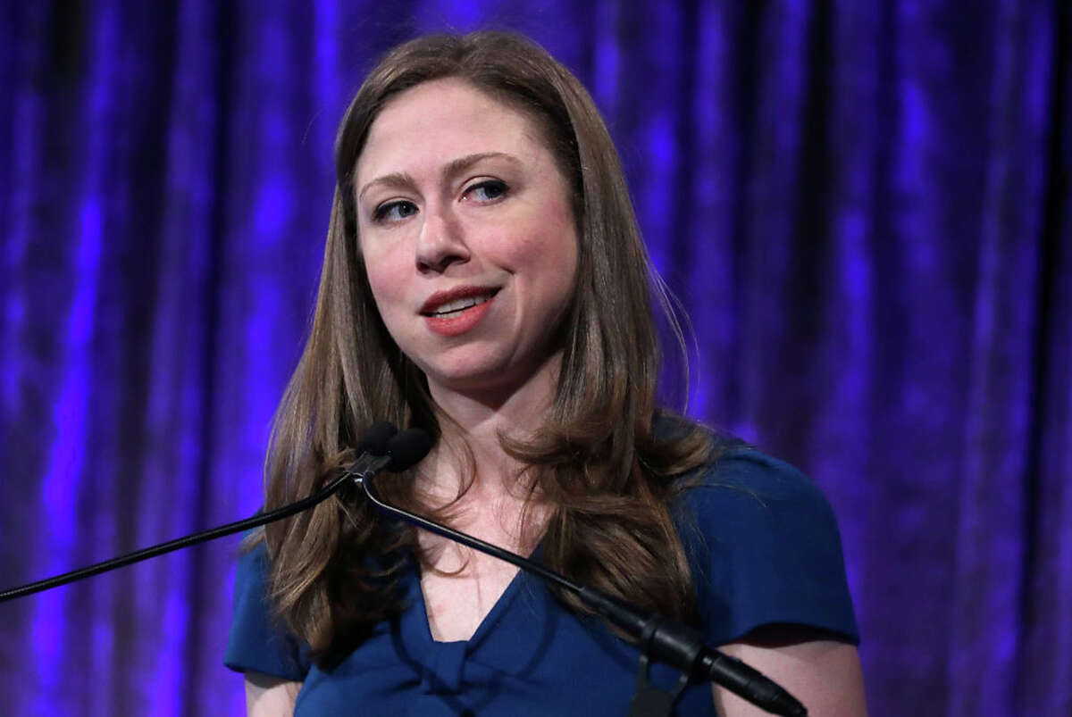 Chelsea Clinton speaks during the 2017 Women's Refugee Commission Voices Of Courage Awards at Cipriani 42nd Street on May 4, 2017 in New York City. (Photo by John Lamparski/Getty Images)