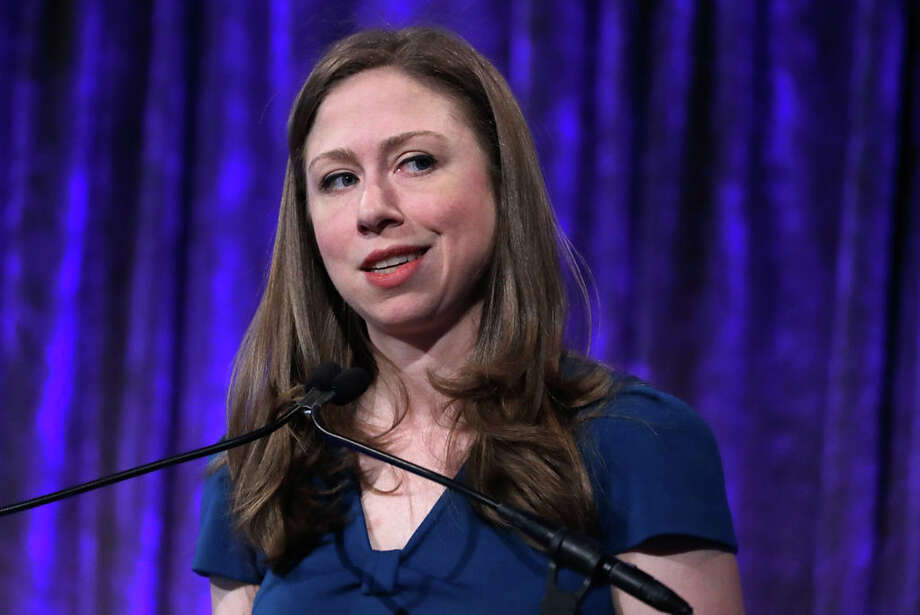 Chelsea Clinton speaks during the 2017 Women's Refugee Commission Voices Of Courage Awards at Cipriani 42nd Street on May 4, 2017 in New York City. (Photo by John Lamparski/Getty Images) Photo: John Lamparski/Getty Images
