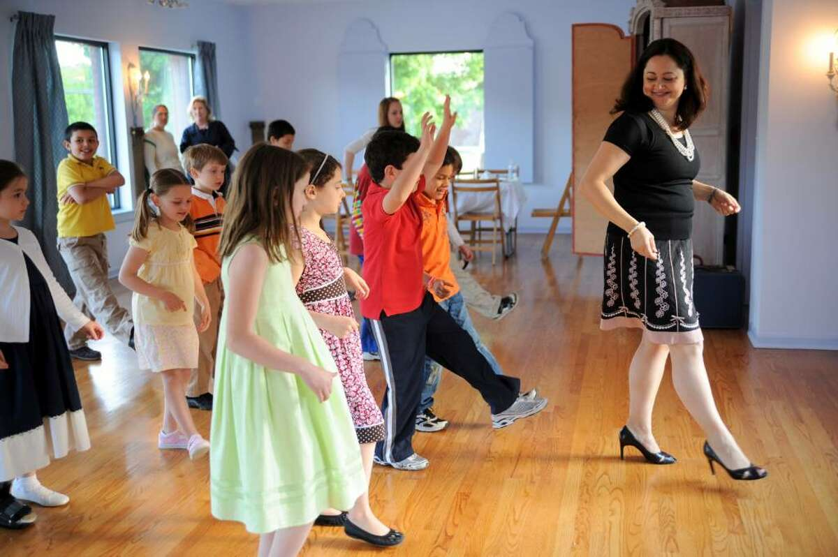 Michelle Sperry of Weston recently opened Fleur de Lis Academy, a private school in Wilton that gives lessons on proper etiquette and manners to children and young adults.