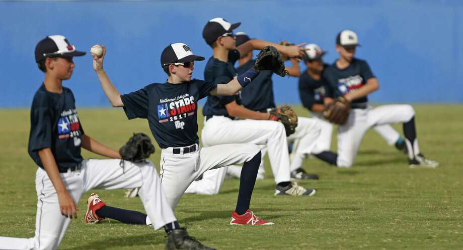McAllister Park drills last month in San Antonio in preparation for the Southwestern Regional tournament in Waco. The team defeated Louisiana's River Ridge on Tuesday, landing a spot in the regional final. Photo: Ron Cortes /For The San Antonio Express-News / Freelance