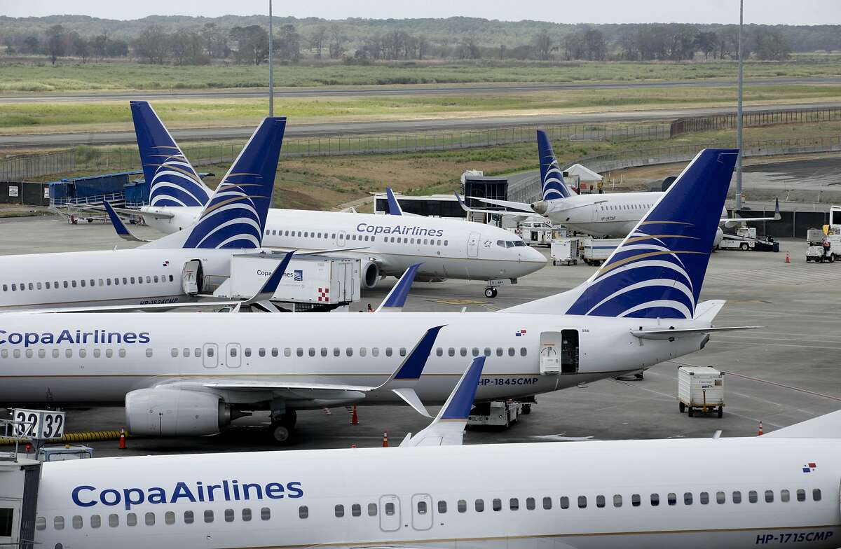Copa Airlines jetliners sit on the tarmac of Tocumen International Airport in Panama City, Tuesday, March 8, 2016. Tocumen is working on a second terminal that is expected to be ready at the end of 2017. (AP Photo/Arnulfo Franco)