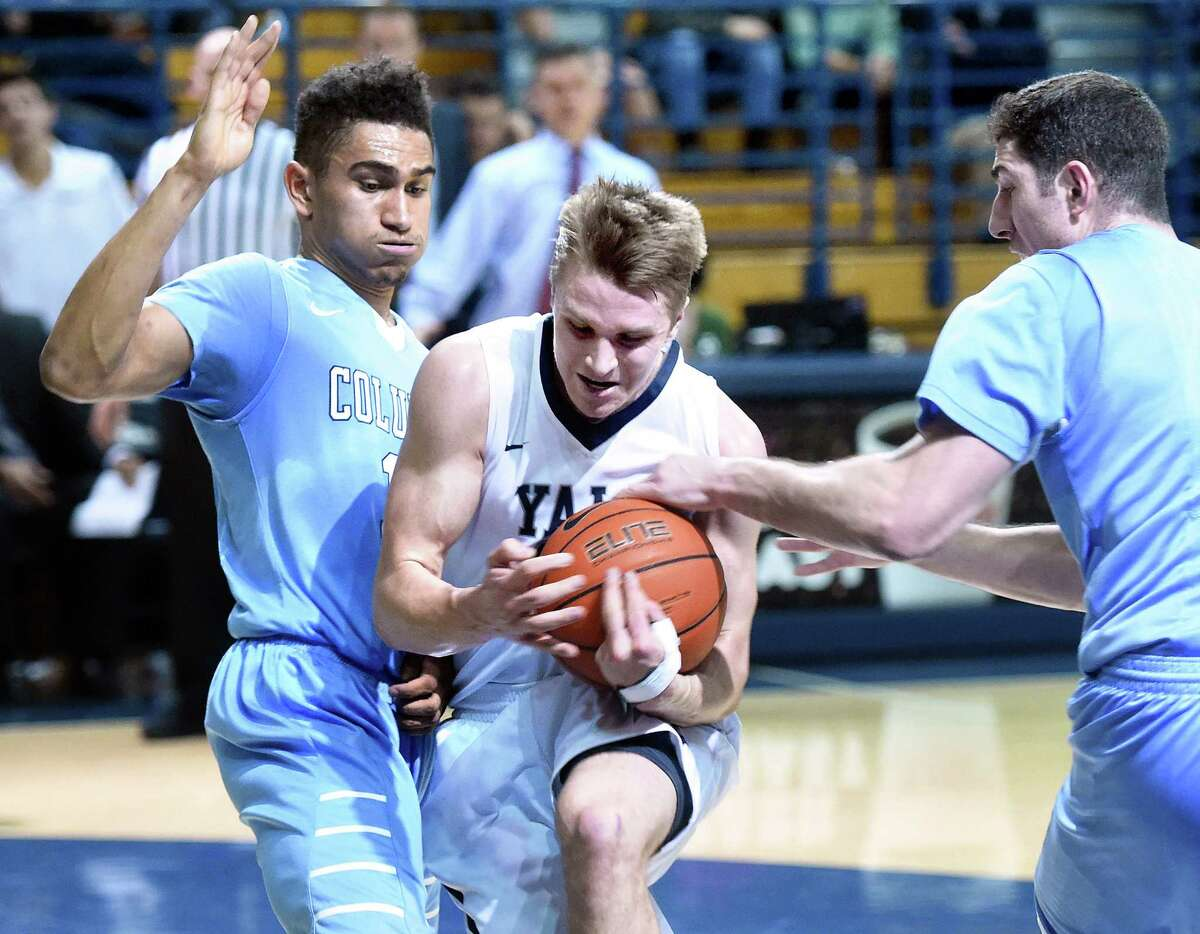 Yale vs. Columbia Mens Basketball action on 2/5/2016. Photo by Arnold Gold/New Haven Register agold@newhavenregister.com
