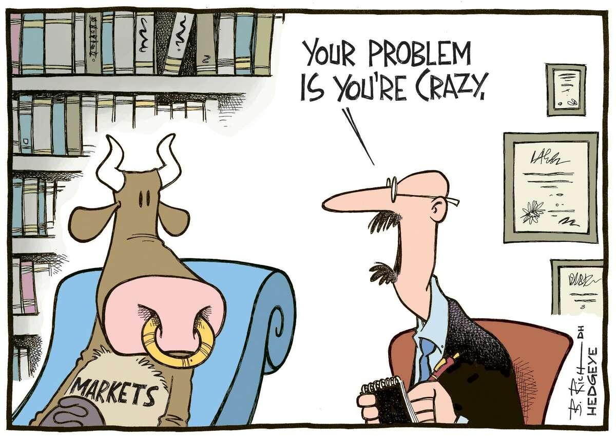A cartoon by Hedgeye cartoonist Bob Rich