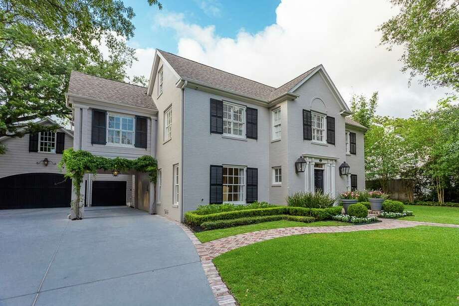 "This Colonial Revival style home at 2112 Brentwood was ""designed by architect Cameron Fairchild for Dr. H.J. Ehlers, a Houston physician who was one of the founders of the Texas Children's Hospital.>>See other River Oaks properties built for iconic Houstonians. Photo: Houston Association Of Realtors"