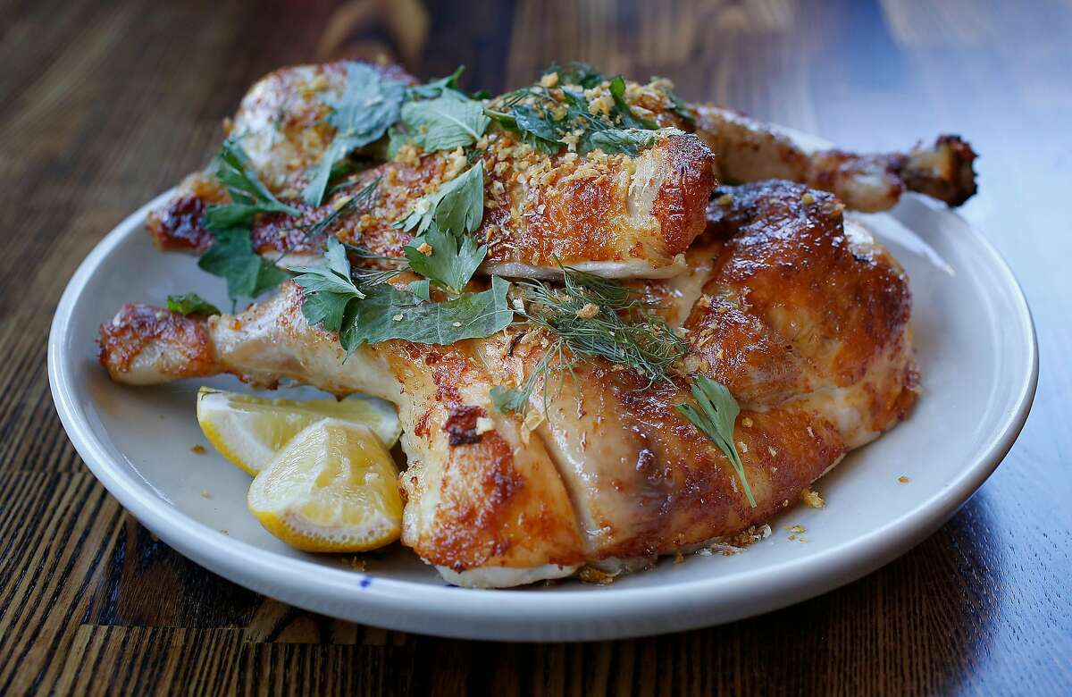 Rotisserie chicken at RT Rotisserie on Monday, July 31, 2017, in San Francisco, Calif.