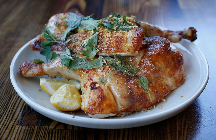 Rotisserie chicken at RT Rotisserie on Monday, July 31, 2017, in San Francisco, Calif. Photo: Liz Hafalia, The Chronicle