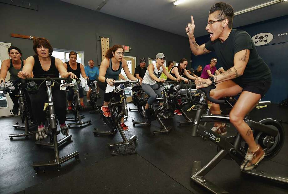 Guilford Resident Lisa Peterson Owner Of Lisas Uncensored Bike And Bootcamp Studio At 53 East