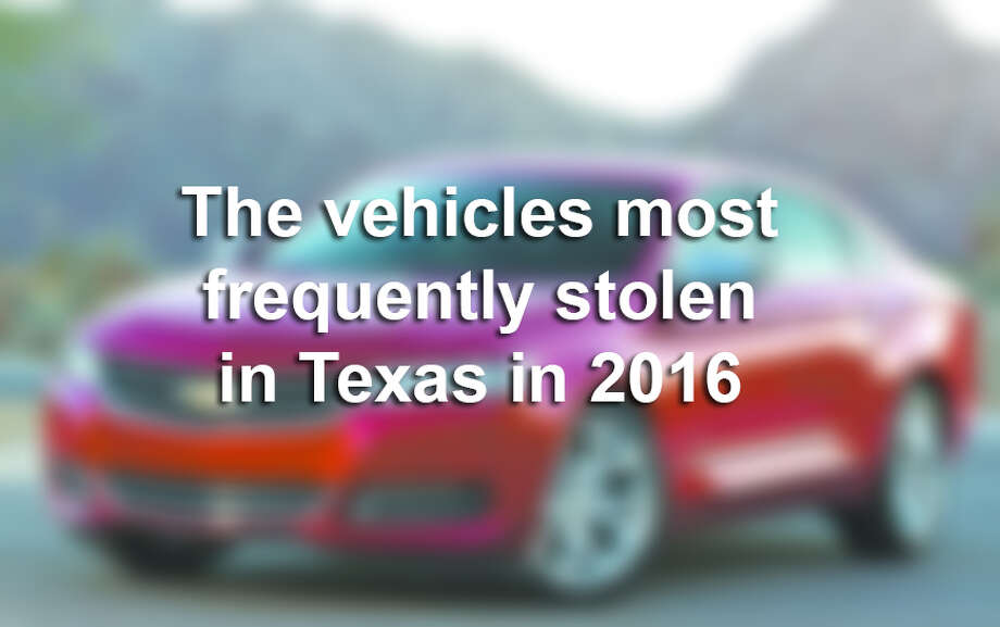 Click through this gallery to see the vehicles most frequently stolen in Texas in 2016. Photo: LMTonline