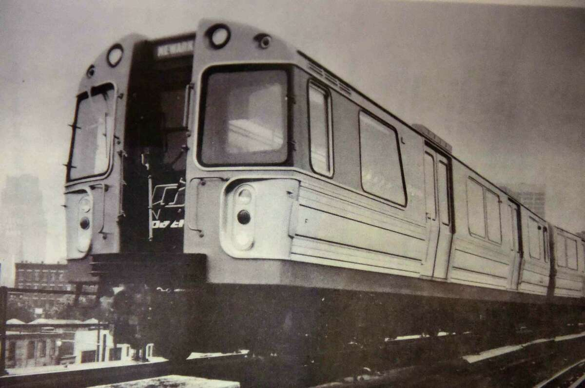 (Peter Hvizdak - New Haven Register) A photo of a model exactly like the PATH Car 745, which was in the PATH subway station under the North Tower of the World Trade Center and survived the 9/11 terrorist attack, has been restored at the Shore Line Trolley Museum in East Haven, Connecticut. The PATH Car 745 will be open to the public after a dedication ceremony Sunday, September 11, 2016 at the museum.The subway car, in the permanent collection at the Shore Line Trolley Museum, is one of two that were found in a cast iron tunnel which enabled them to withstand the pressures from the collapsing World Trade Center building above. On the morning of September 11, 2001, the car was sent to the World Trade Center to pick up passengers, but none were found inside when the car was discovered during excavation. The Shore Line Trolley museum is the oldest operating trolley museum in the United States. See more photos at: photos.newhavenregister.com.