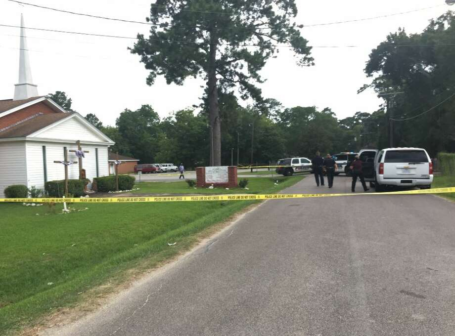 A man has died after a shooting on Pine Burr near Solid Rock Community Church in Beaumont Wednesday, August 2, 2017.