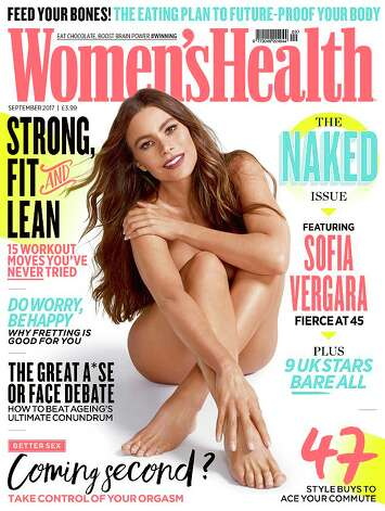 Sofia Vergara on the cover of Woman's Health in September 2017. Photo: Woman's Health Magazine