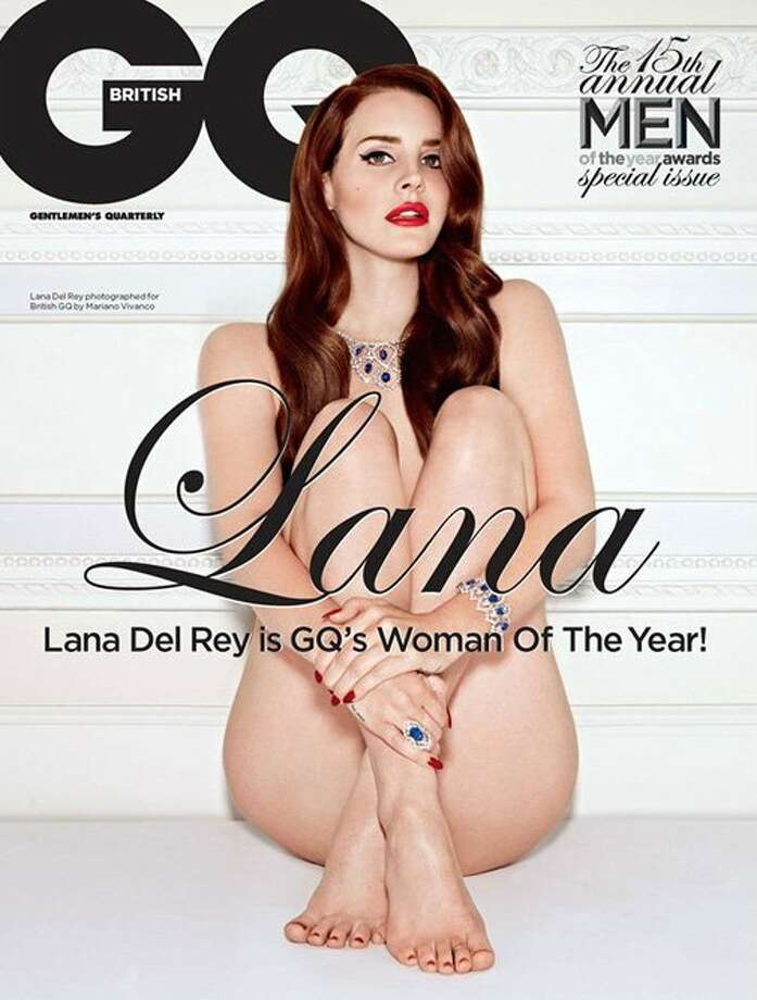 Lana Del Rey on the cover of British GQ in December 2012. Photo: British GQ Magazine