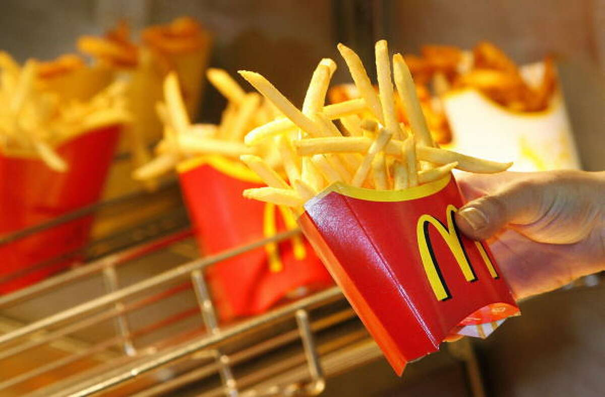 McDonald'sMultiple locations National French Fry Day is the only day you can get a free medium free from Mickey D's. You don't have to buy anything else, but you do have to download their mobile app.