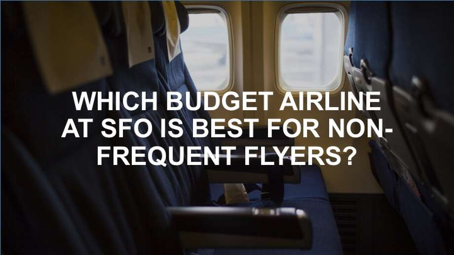 Which wallet-friendly way to fly out of SFO is best for the non-frequent traveler? See our breakdown of the seven SFO budget carriers, ranked from lowest-scoring to highest-scoring, in the following slides.Ranking methodology: For the categories of Snacks, Entertainment, Seat Selection, Checked Bag, and Overhead Access, each airline carrier was awarded a maximum of 10 points: 10 if the service was free, 5 if the service had an affiliated cost, and 0 if the service was not available. The categories of Median Seat Pitch, On-Time Score, and J.D. Power Score were weighted more heavily. For the category of Median Seat Pitch, the carrier with the smallest pitch length was given 0 points; each carrier ranked higher was given 10 points per median pitch inch longer than the carrier in last place. The points for categories of On-Time Score and J.D. Power Score were awarded in a similar fashion, with the lowest-scoring airline gaining 0 points, and the others gaining 10 points per data point of difference between the lowest and highest-scoring carriers. For example, Virgin America/Alaska Airlines, which had the lowest on-time score, was given 0 points for the category. JetBlue, whose airline flights were on time approximately 3 percent more often, was given 30 points.