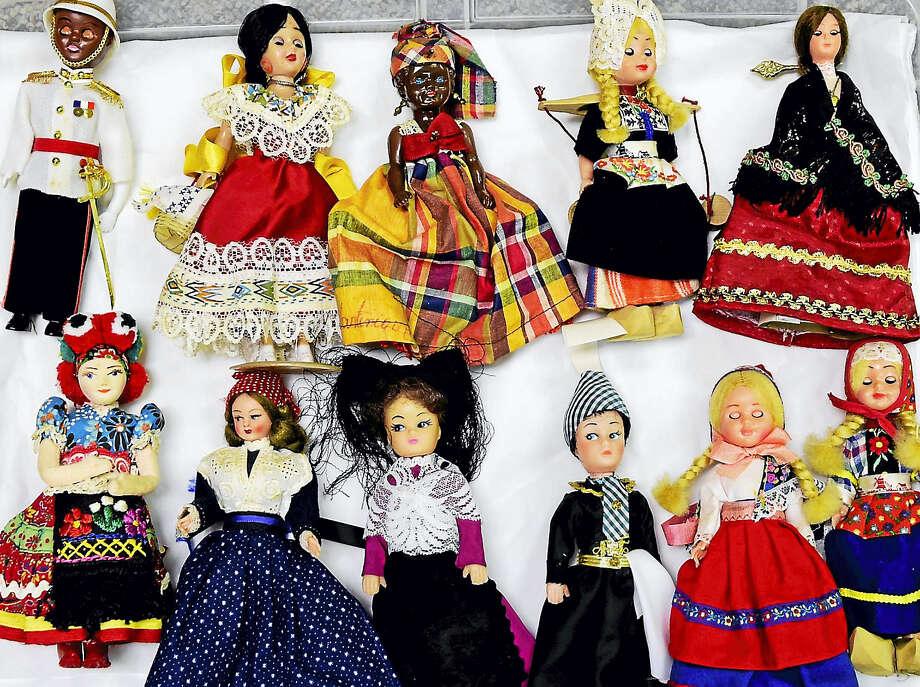 (Peter Hvizdak - Hearst Connecticut Media)Orange, Connecticut: July 19, 2017. Dolls from many countries and ethnic origin at the  Academy House of the Orange Historical Society are among the many diverse collectible dolls going up for sale as a fundraising benefit for the Bryan-Andrews House in Orange. Photo: Digital First Media / Peter Hvizdak