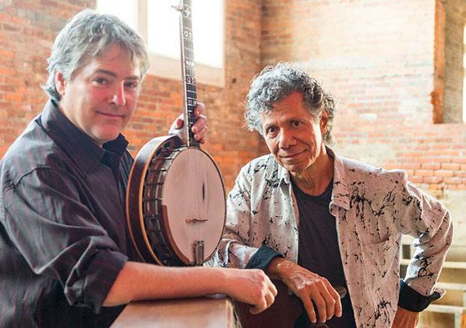 Bela Fleck & The Flecktones and the Chick Corea Elektric Band performed at the The Egg Saturday night.