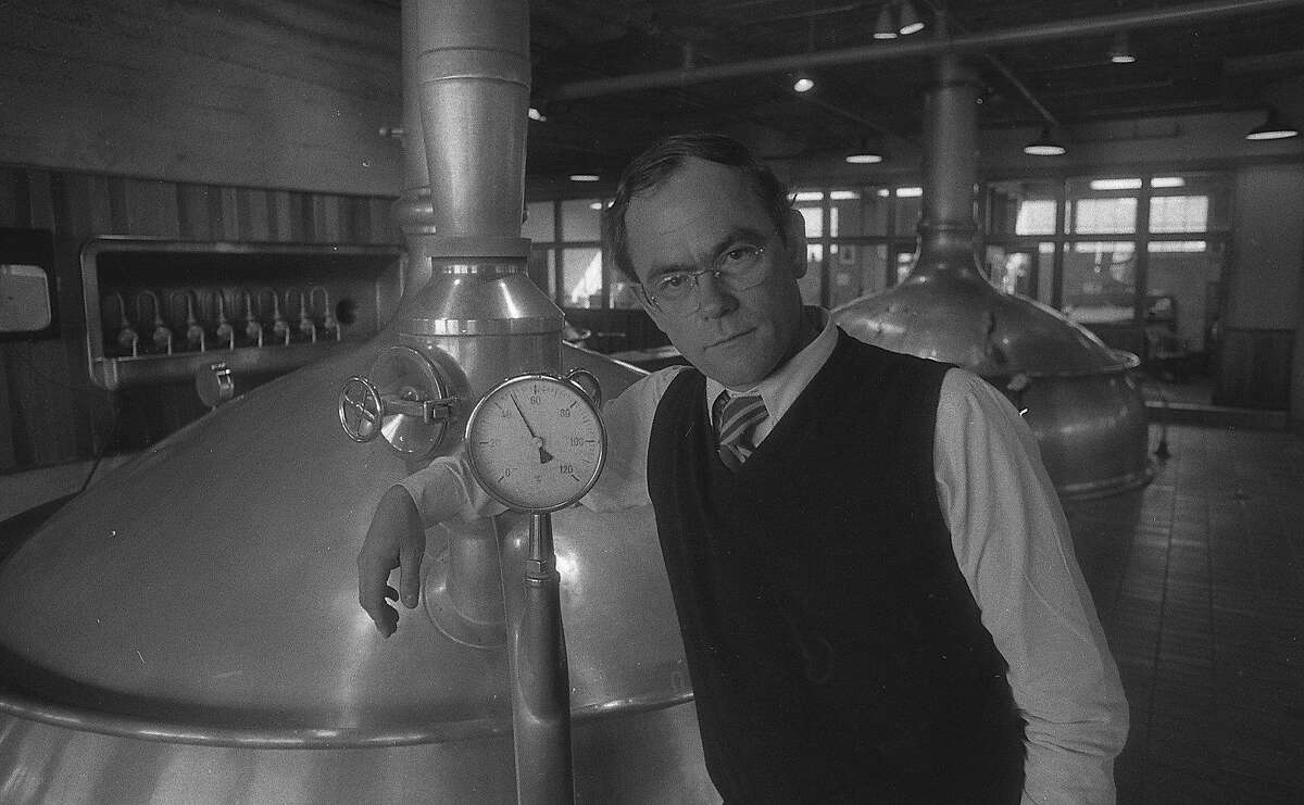 Fritz Maytag of Anchor Steam, on February 24, 1983.