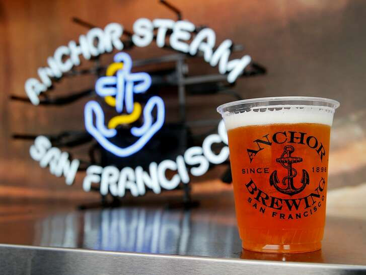 The famous Anchor Brewery label will have a large presence at the yard. The Giants' Yard at Mission Rock bills itself as a pop-up shipping container village that has local food and drink, public space and events. It joins other shipping container stores like Proxy at Octavia and Hayes Streets in San Francisco, Calif.