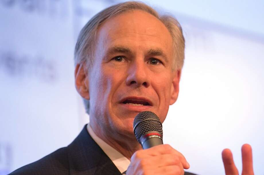 Texas Gov. Greg Abbott, shown here addressing a Texas Public Policy Foundation crowd in July 2017, later made an erroneous claim about Jerry Jones and the Dallas Cowboys (AUSTIN AMERICAN-STATESMAN, Ralph Barrera).