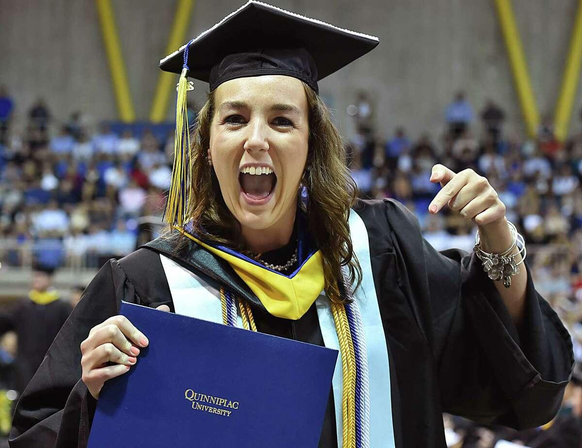 PHOTOS: Quinnipiac University School Undergrad Commencement