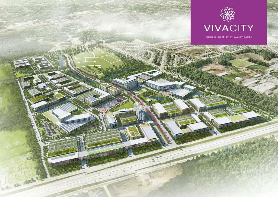 A rendering of Vivacity at Valley Ranch.