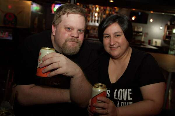 Shane Fordyce and Paulina Quezada are at El Luchador Bar.